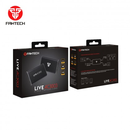 Fantech AC3003 Live Video Capture Card Gaming Capture Card Audio Video streaming Record