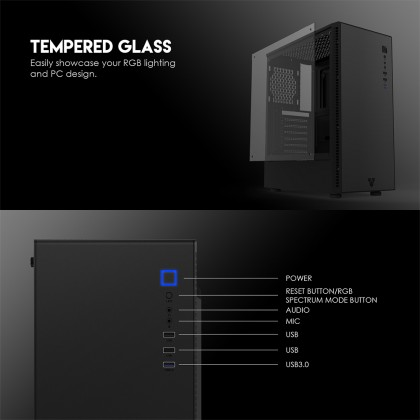 CG74 RGB MIDDLE TOWER CASE