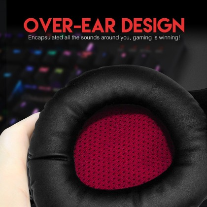 Fantech HG16 Sniper Virtual 7.1 Surround Over-Ear RGB Gaming Headset