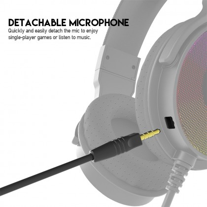 FANTECH HG22 RGB earphone game Earphones With Microphone USB 7.1 Surround Sound Wired Gaming Headset For PC PS4 Player Mobile Phone