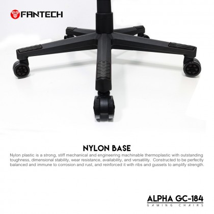 FANTECH ALPHA GC-184 Stability & Safety Hydraulic Gaming Chairs